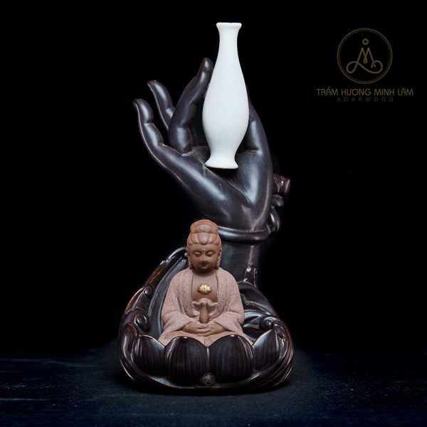 Thác Khói Trầm Hương Tay Phật B